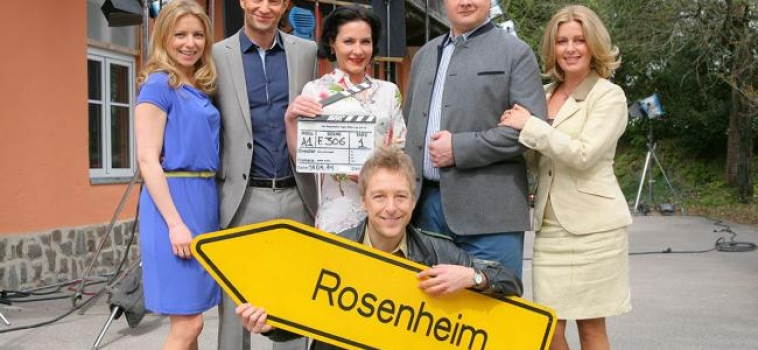 Heute 1. Drehtag bei den Rosenheim Cops