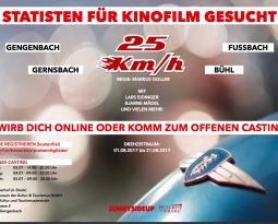 Komparsen in BADEN-WÜRTTEMBERG gesucht für KINOFILM!