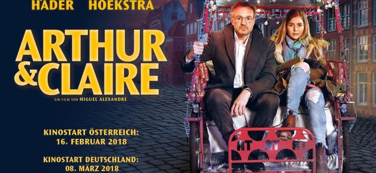 PF Komparsen ab 1. März im Kino – ARTHUR UND CLAIRE